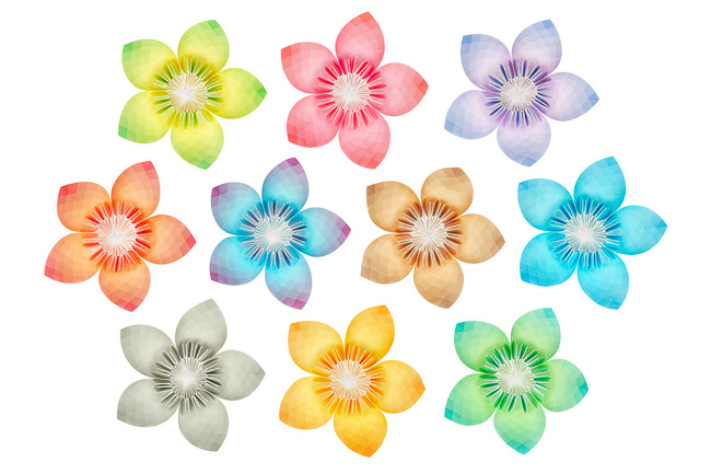 paper flowers patterns. Paper Flowers Pattern