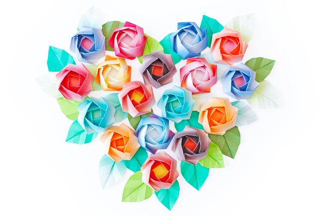 Цветы из бумаги своими руками для плакатов