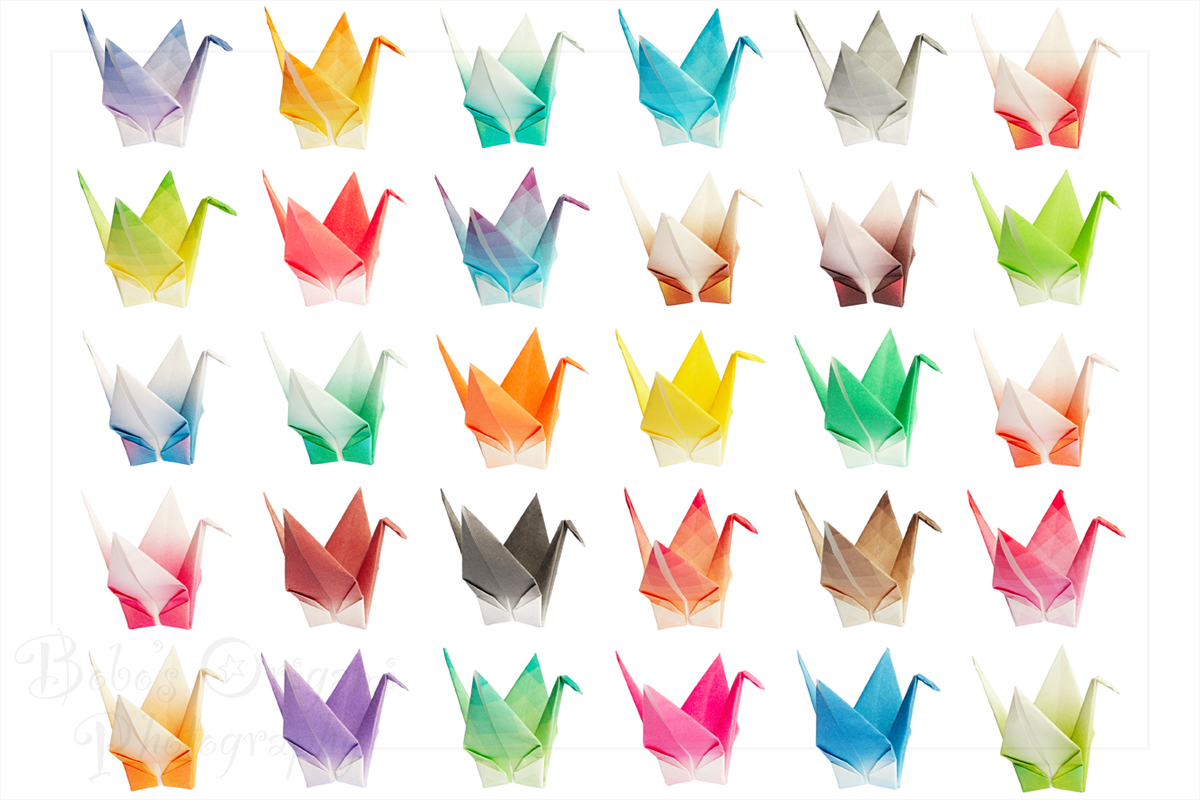 Origami Cranes Chart